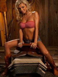 Alicia Secrets Hot Blonde Cowgirl 05