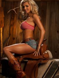 Alicia Secrets Hot Blonde Cowgirl 06