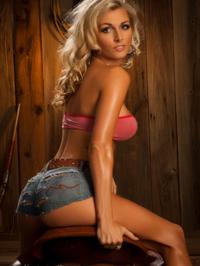Alicia Secrets Hot Blonde Cowgirl 07