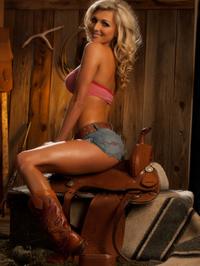 Alicia Secrets Hot Blonde Cowgirl 09