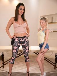Naughty Masseuse Ashley Adams Licks Piper Perri's Cunt 00