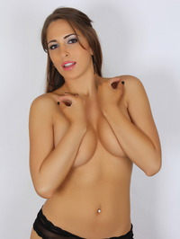 Amber J Teases With Her Big Tits 09