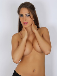Amber J Teases With Her Big Tits 10