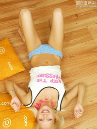 Hot Blonde With Pillows 04