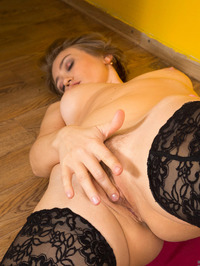 Yulenka With Cherry In Her Pussy 19