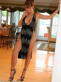 Ann Angel Classy Black Dress 05