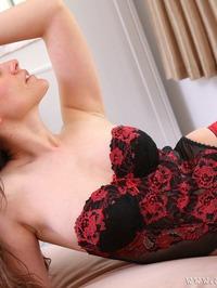 Ulrika In Sexy Black Stockings 01
