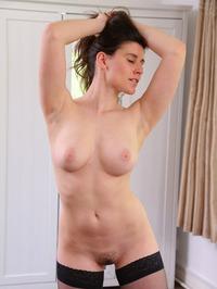 Ulrika In Sexy Black Stockings 18