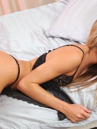 Verunka In Sexy Lingerie Strip 04