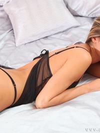 Verunka In Sexy Lingerie Strip 07