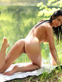 Macy Shows Off Her Juicy Flexible Body 03