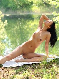 Macy Shows Off Her Juicy Flexible Body 04