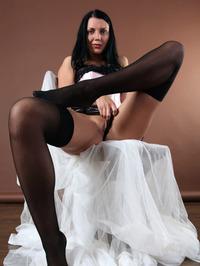 Macy In Her Black Stockings 10