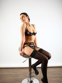 Cute Macy Sexy Stockings And Lingerie 00