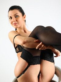 Cute Macy Sexy Stockings And Lingerie 07
