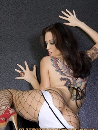 Beautiful Brunette Babe Nikki Nova 03