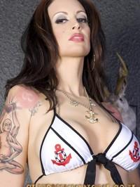 Beautiful Brunette Babe Nikki Nova 04