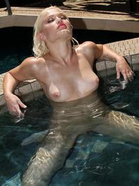 Ash Hollywood All Wet In Micro Bikini 14