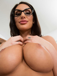 Busty And Booty August Ames Strips To Naked 07