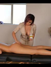 Bryci And Katie Banks Lesbian Massage 01