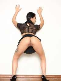 Gothic Cutie Gina Valentina Strips And Spreads 08