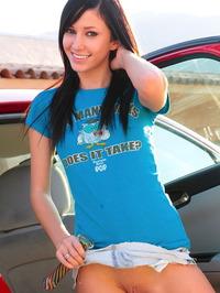 Catie Minx Misbehaving In The Backseat 06