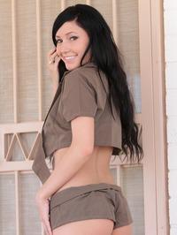 Catie Minx Strips Cute Shorts Off 06