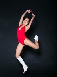Megan Rain In Sexy Red Bodysuit 00