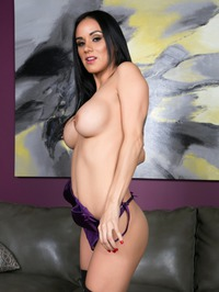 Nadia Styles Slips Out Of Her Purple Bodysuit 02