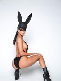 Sexy Bunny Abby Lee Brazil Gets Nude 04