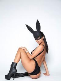 Sexy Bunny Abby Lee Brazil Gets Nude 07