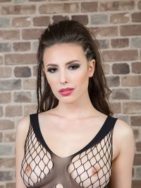 Casey Calvert Slips Out Of Her Sexy See-through Bodysuit 05