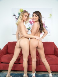 Hot Lesbians Natalia Starr And Adria Rae 02