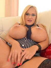 Dolly Fox Shows Her Huge Tits 12