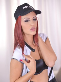 Aylin Diamond Is A Sexy Officer 08