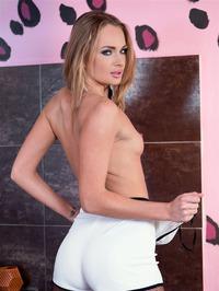 Ivana Sugar Poses In Fishnet Pantyhose 11