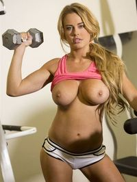 Corinna Blake Weight Lifting 12