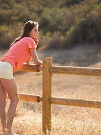 Amber Sym In Naked Girl Outdoors 00