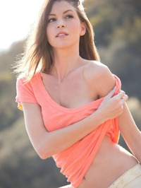 Amber Sym In Naked Girl Outdoors 03