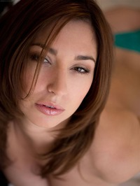 Shay Laren Strips Off Her Sexy Teal Lingerie 02