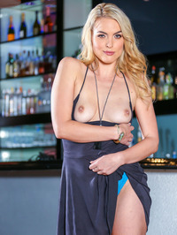 Keira Nicole Strips Naked At The Bar 01