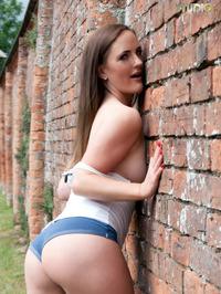 Victoria Roberts Skimpy Shorts 14