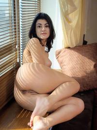Naked Brunette Babe Zita B 01