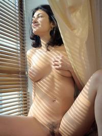 Naked Brunette Babe Zita B 08