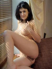 Naked Brunette Babe Zita B 10