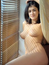 Naked Brunette Babe Zita B 11