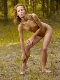Smiley Russian Girl Ovta Naked In The Nature 01