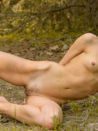 Smiley Russian Girl Ovta Naked In The Nature 02