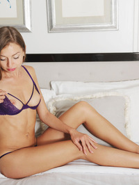 Leila Mazz Tiny Lingerie Strip 03