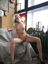 Erotic Blonde Adele 16